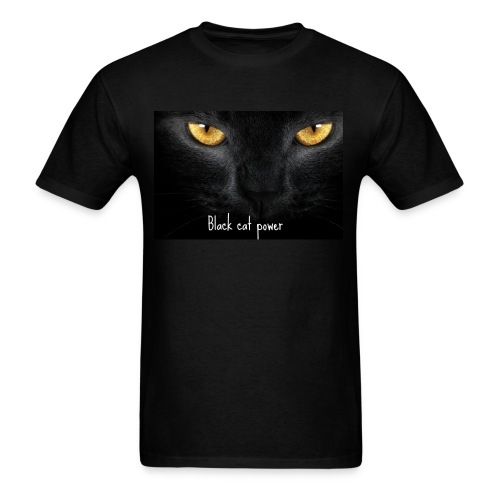 Black Cat Power - Men's T-Shirt