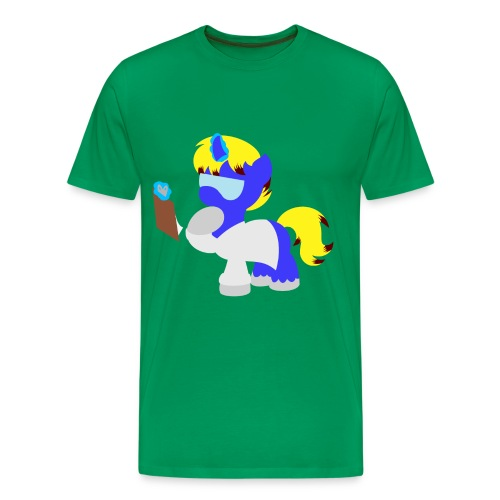 Science Pony Silhouette (Men) - Men's Premium T-Shirt