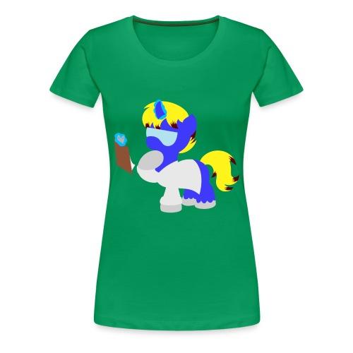 Science Pony (Women) - Women's Premium T-Shirt