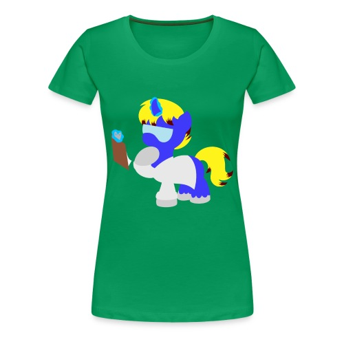 Science Pony (Women) - Women's Premium T-Shirt