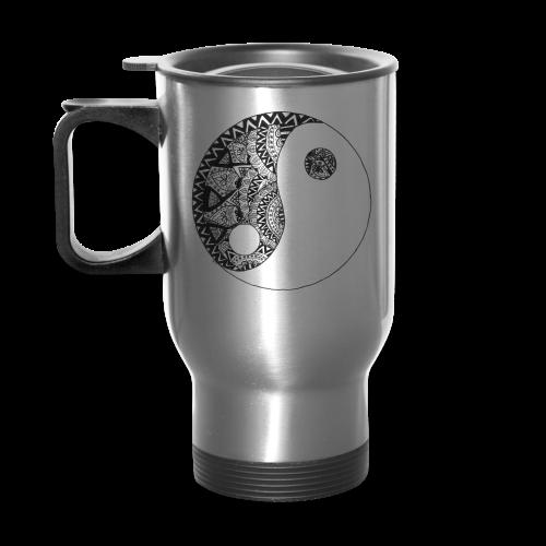 Tasse de voyage Yin Yang by Gen - Travel Mug