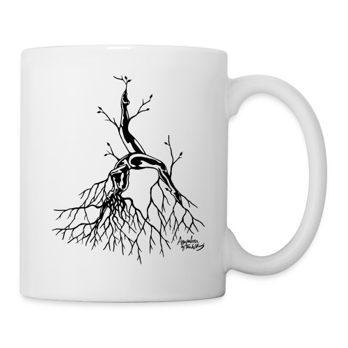Tree Dancer 3 - Ink - Coffee/Tea Mug