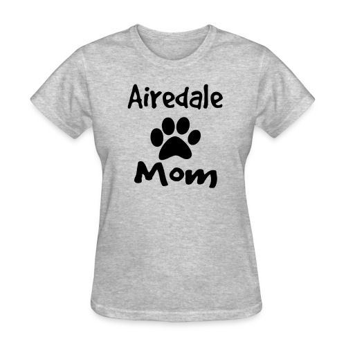Airedale Mom Tee - Women's T-Shirt