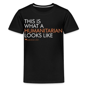 Kid's Humanitarian Tee - Kids' Premium T-Shirt