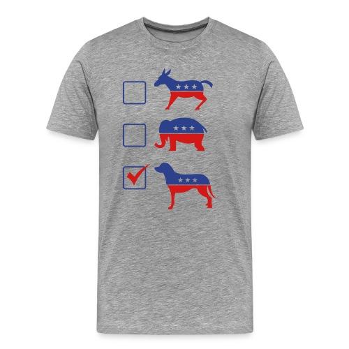 Vote Puppies 2016 - Men's Premium T-Shirt