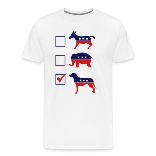 Vote Puppies - Men's Premium T-Shirt