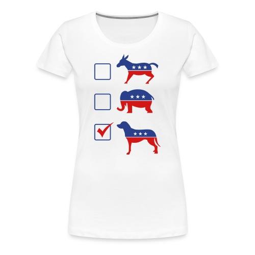 Vote Puppies 2016 - Women's Premium T-Shirt