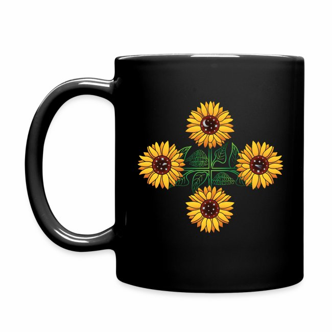 Night Blooms From the Sun Mug