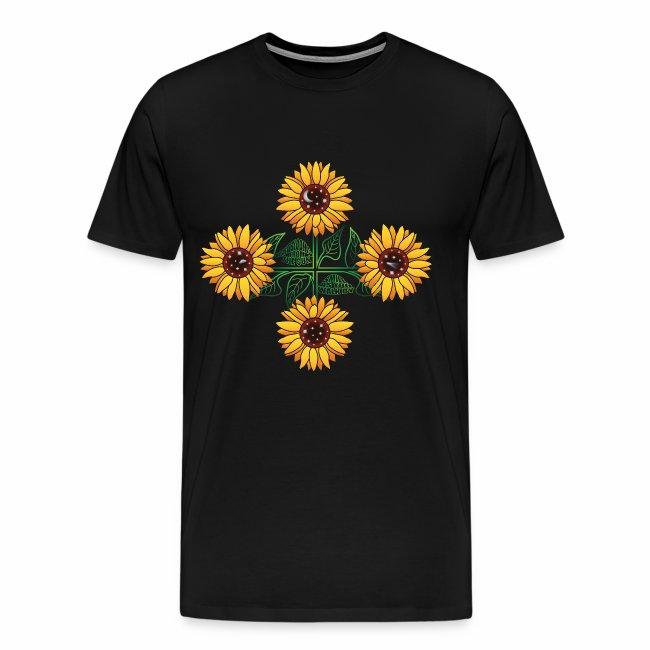 Night Blooms From the Sun Men's T-shirt (premium)