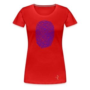 Identity_Blue-ConScience - Women's Premium T-Shirt
