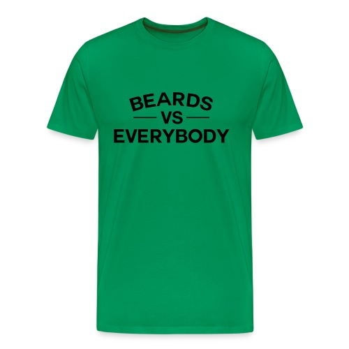 Beards VS Everyone - Men's Premium T-Shirt