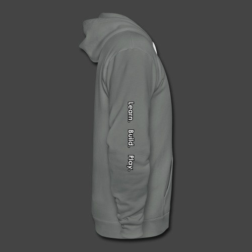 sleeve - Unisex Fleece Zip Hoodie by American Apparel