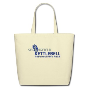 Springfield Kettlebell Eco-Friendly Cotton Tote - Eco-Friendly Cotton Tote
