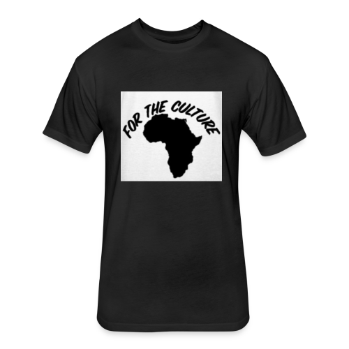 For The Culture Men's T-Shirt - Fitted Cotton/Poly T-Shirt by Next Level