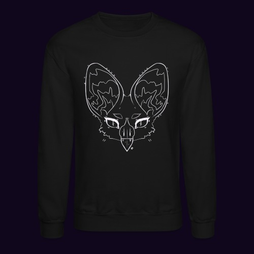 black bat sweatshirt - Crewneck Sweatshirt