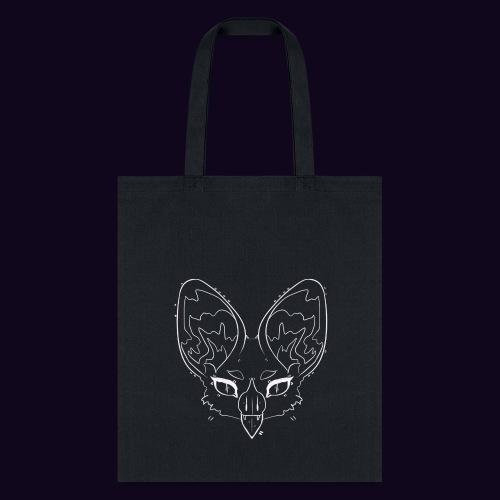 black bat tote bag - Tote Bag