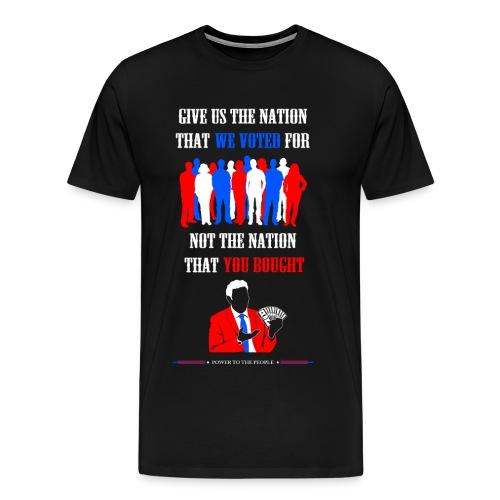 Power To The People - Mens Tee - Men's Premium T-Shirt