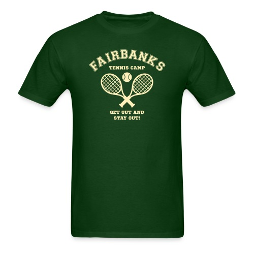 Fairbanks Tennis Camp - Men's T-Shirt