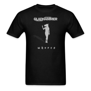 Men's Gladhammer Silver 'Whores' T-shirt - Men's T-Shirt