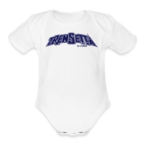 baby trenSetta - Organic Short Sleeve Baby Bodysuit