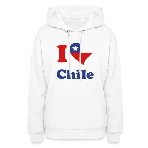 I Love Chile - Women's Hoodie