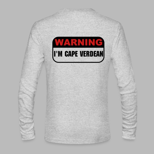 Warning - Men's Long Sleeve T-Shirt by Next Level