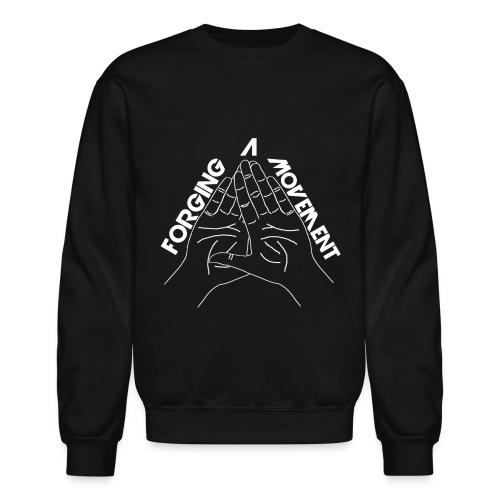 Men's FaM Sweatshirt - Hands (Black) - Crewneck Sweatshirt