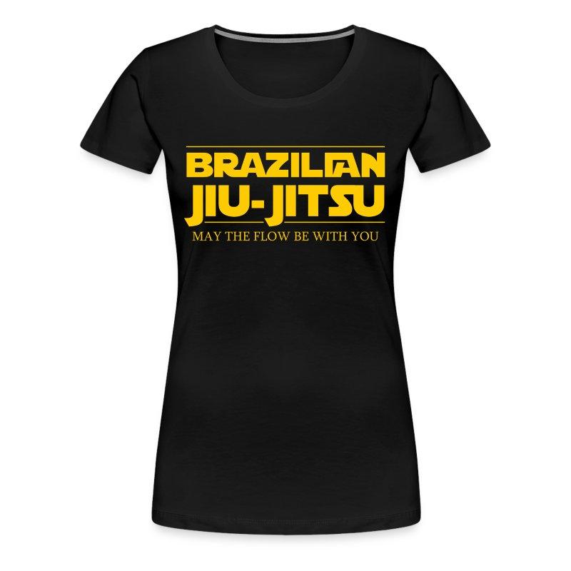 Bjj star wars brazilian jiu jitsu t shirt t shirt for Womens brazil t shirt