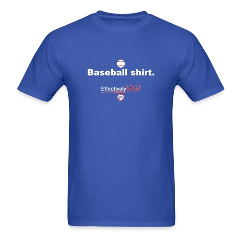 EW Baseball - Men's T-Shirt - Men's T-Shirt
