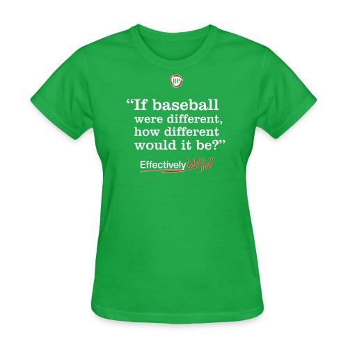 EW Different? - Women's T-Shirt - Women's T-Shirt