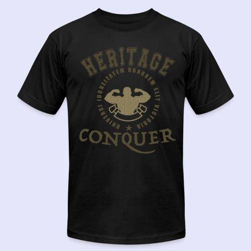 Men's T-Shirt Heritage Conquer Gold - Men's Fine Jersey T-Shirt
