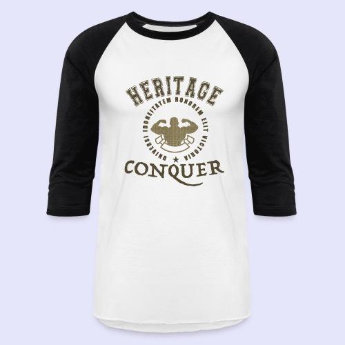 Men's Baseball T-Shirt Heritage Conquer Gold - Baseball T-Shirt