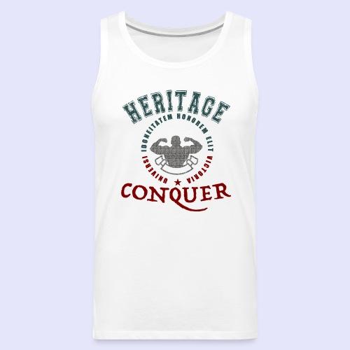 Men's Tank Heritage Conquer Color - Men's Premium Tank