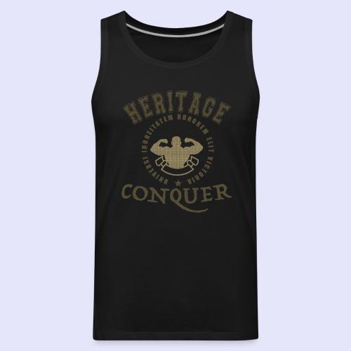 Men's Tank Heritage Conquer Gold - Men's Premium Tank