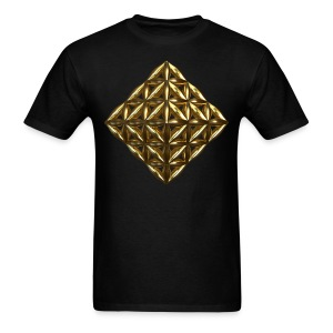 Flower Of Life Octahedron Ag - Men's T-Shirt