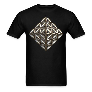 Flower Of Life Octahedron Au - Men's T-Shirt