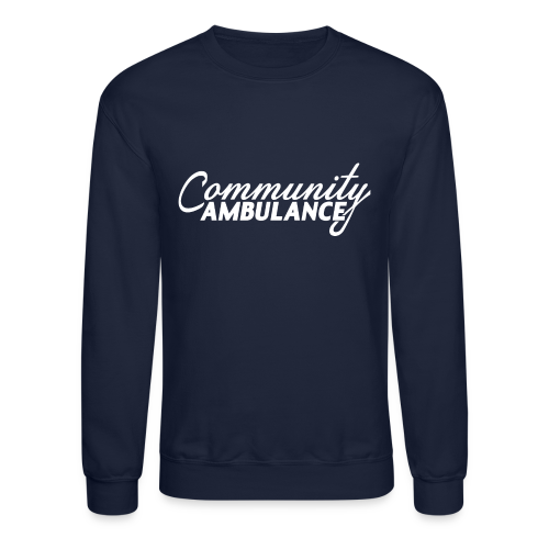 Community Ambulance Crewneck Sweatshirt - Crewneck Sweatshirt