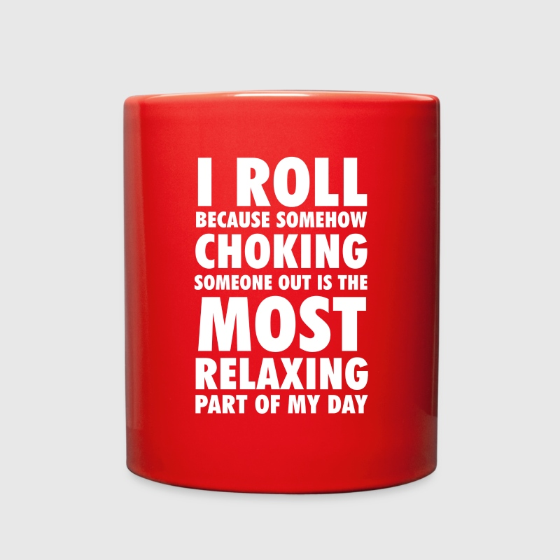 I Roll Brazilian Jiu-Jitsu T-shirt Mugs & Drinkware - Full Color Mug