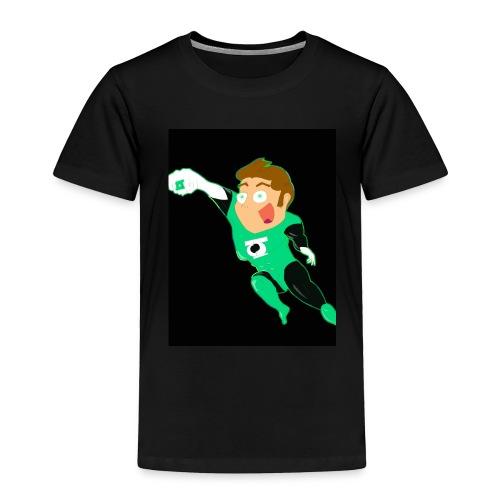Green shirt - Toddler Premium T-Shirt