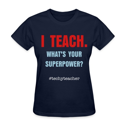 I TEACH - women's (S-XXL) - Women's T-Shirt