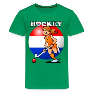 Dutch women's hockey team Kids' Shirts - Kids' Premium T-Shirt