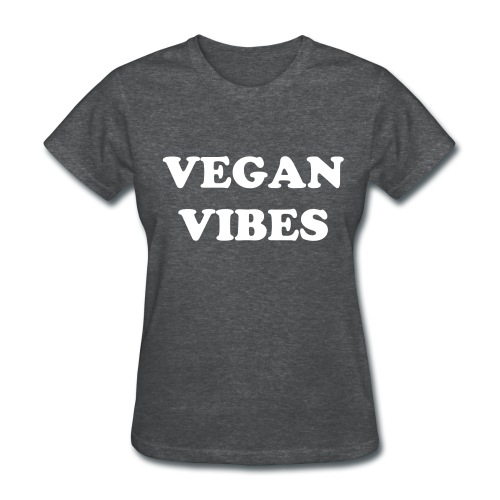 vegan vibes - Women's T-Shirt