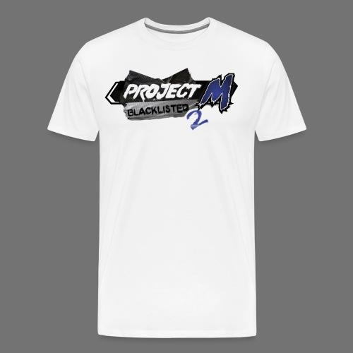 Blacklisted 2 - Project M Championship Circuit - Men's T-Shirt - Men's Premium T-Shirt