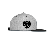 Sportswear ~ Snap-back Baseball Cap ~ BQE 210 Limited Edition Flocked Cap