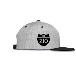 BQE 210 Limited Edition Flocked Cap - Snap-back Baseball Cap