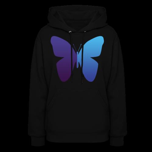 528 Evenings Media Butterfly Hoodie (Womans) Variant 1 - Women's Hoodie
