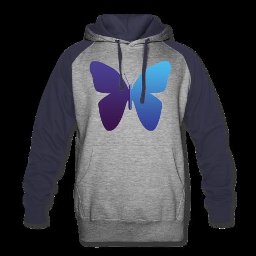 528 Evenings Media Butterfly Hoodie (Mens) Variant 2 - Colorblock Hoodie