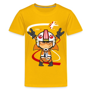 The Pilot! V.1 (Kids) - Kids' Premium T-Shirt