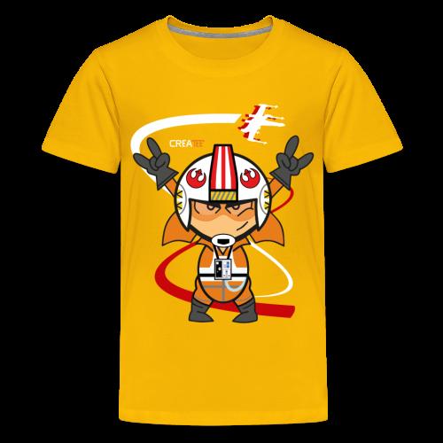 The Pilot! V.1 (Kids) - Kids' Premium T-Shirt