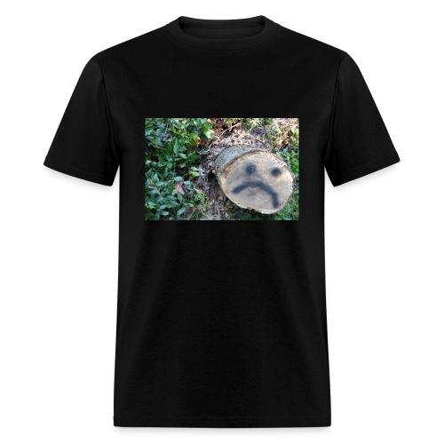 sad tree - Men's T-Shirt